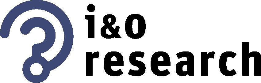 Logo onderzoeksbureau I&O Research